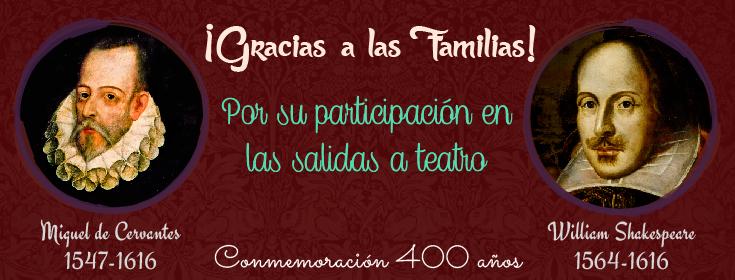 Agradecimiento a las familias