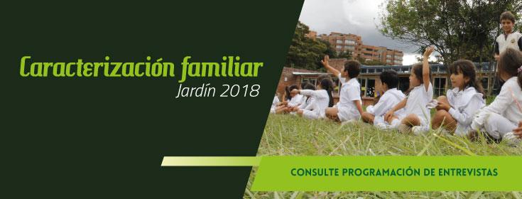 Caracterización familiar - Jardín 2018