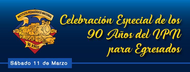 celebración 90 años para egresados