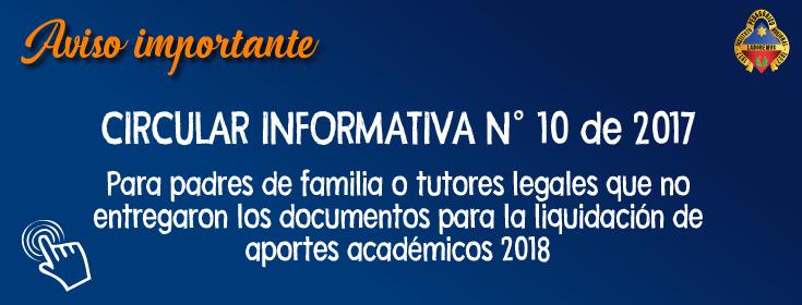 circular informativa 10