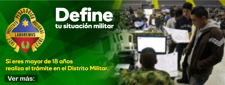 Define tu situaci�n militar