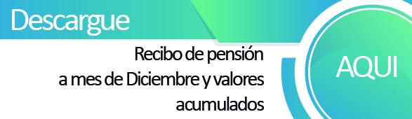 Descargue aqu� el recibo de pensiones pendientes a�o 2018 y acumulados