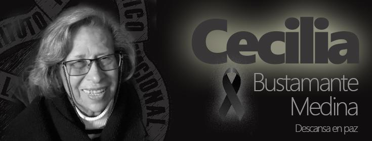 Fallecimiento Cecilia Bustamanete Medina