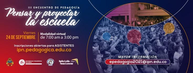 III ENCUENTRO EN PEDAGOG�A_24-09-2021