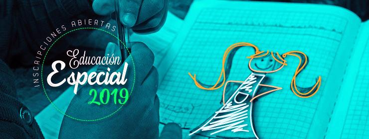 Inscripciones abiertas Educaci�n Especial 2019