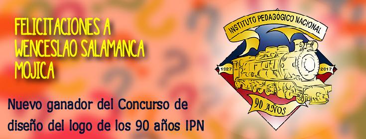 Nuevo ganador del concurso Logo IPN 90 años