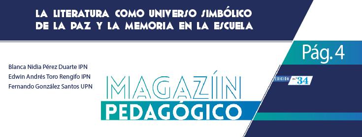Publicación de profesores IPN en el M agazín Pedagógico