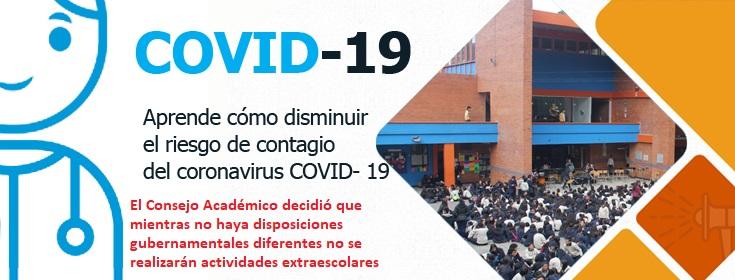 Riesgo de contagio del coronavirus COVID - 19