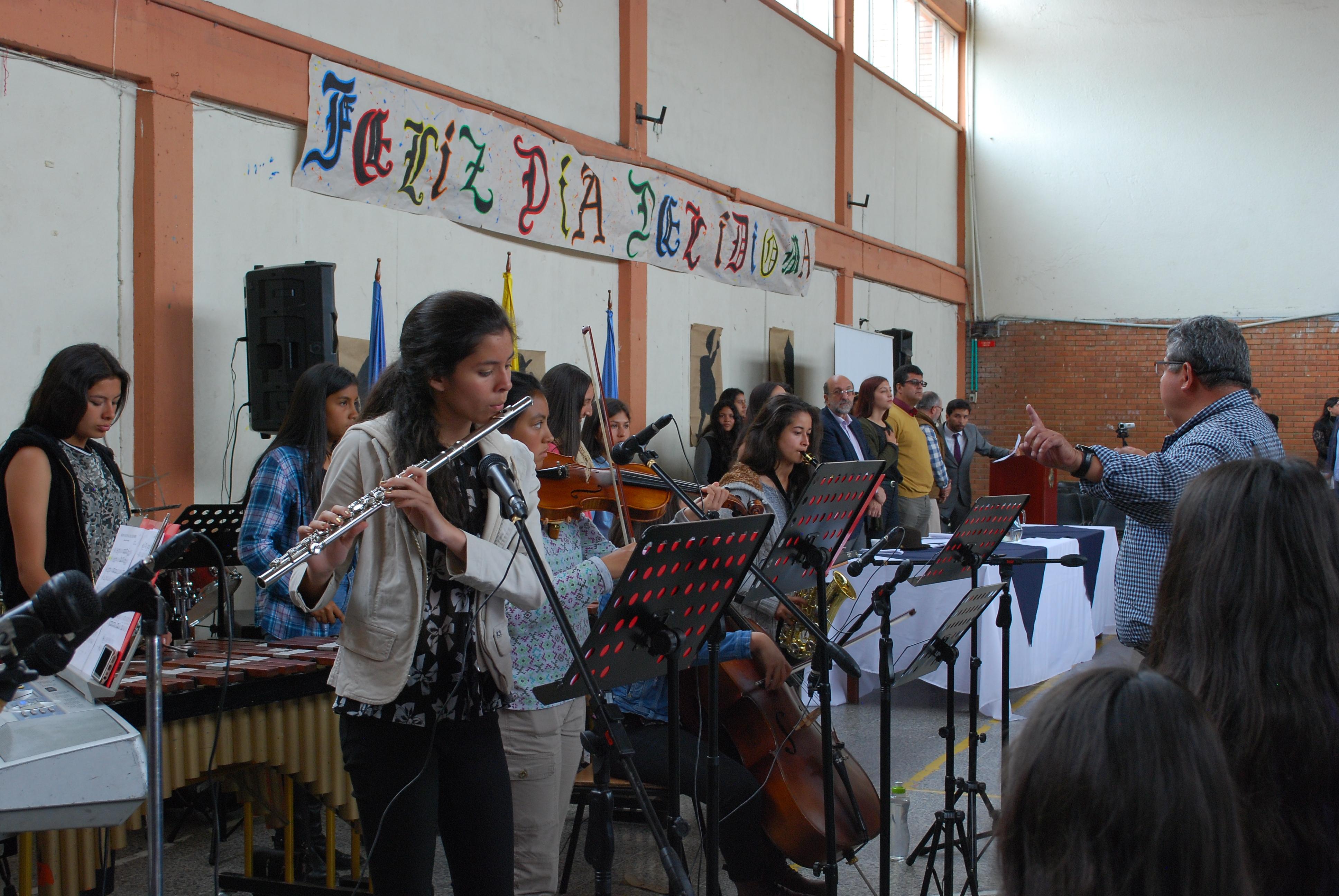 La orquesta actual