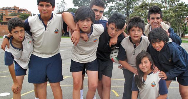 Clases Educación Física - Cancha de baloncesto